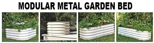Modular Metal Garden Bed