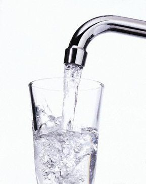 water from the tap