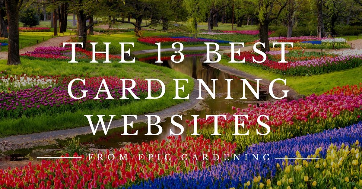 13 Best Gardening Websites