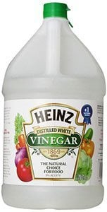 Vinegar for powdery mildew