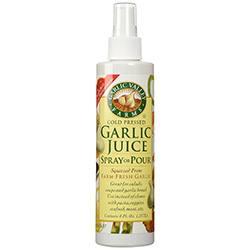Garlic Spray for Grasshoppers