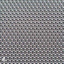 Diamond-patterned mylar.