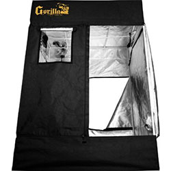 The Gorilla 4x8 grow tent is the best quality on the market.