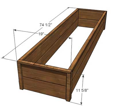 50 Free Raised Bed Garden Plans, How To Build A Raised Garden Bed With Legs Pdf