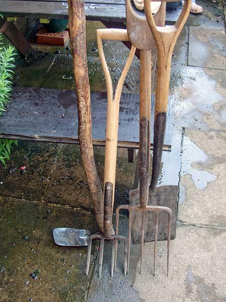 Digging fork and spading fork