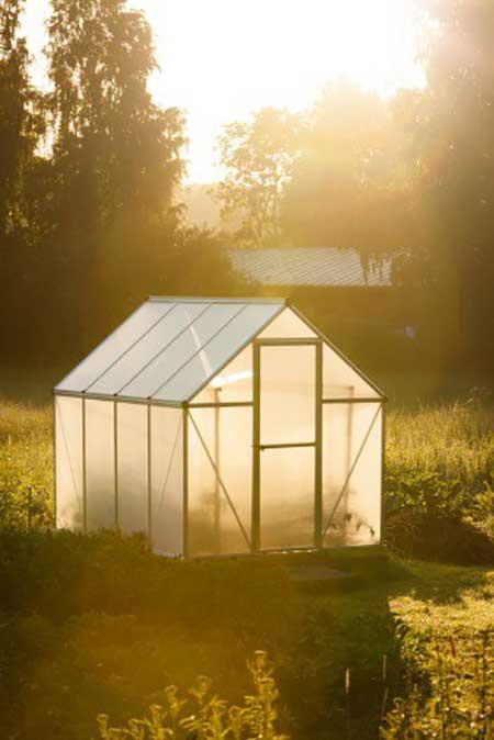 Bamboo Frame Greenhouse