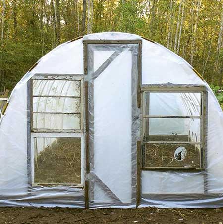 Budget Ventilated Hoop Greenhouse