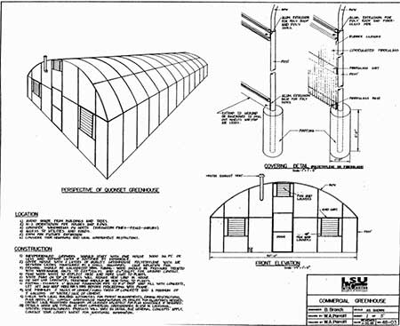 Commercial Polytunnel Greenhouse