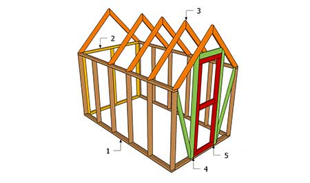 DIY Wood Frame Greenhouse