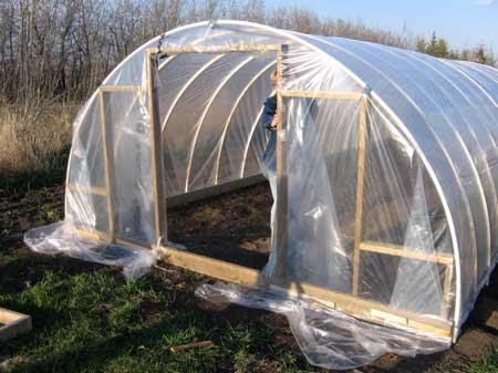 Hoop Frame Greenhouse