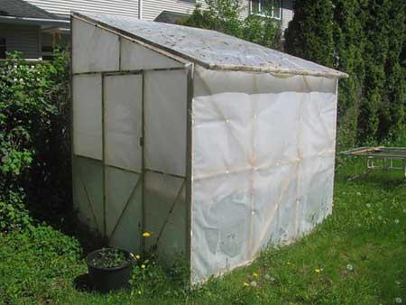 Inexpensive Polyethylene Greenhouse