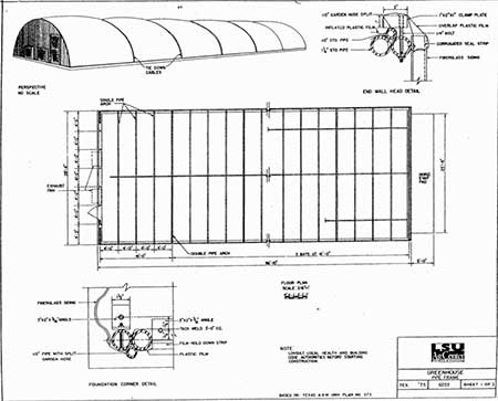Long Pipe Frame Greenhouse