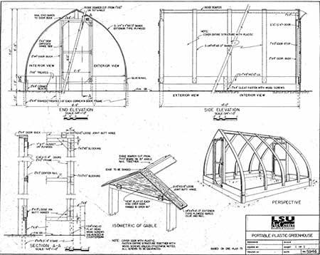 Portable Shipshape Greenhouse