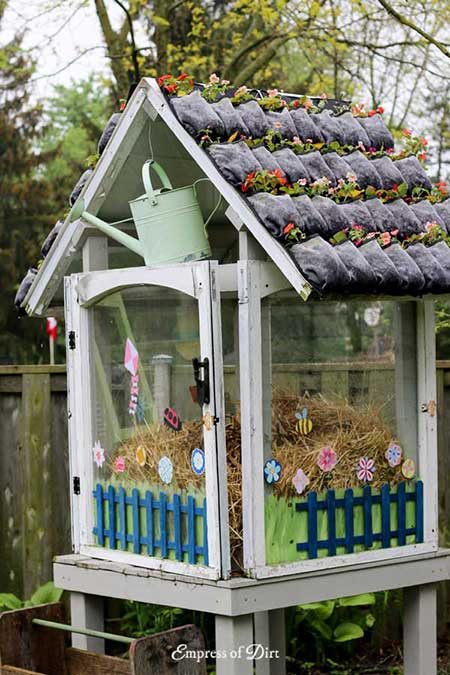 Small Pane Window Greenhouse