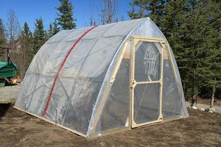Snow-Slider Greenhouse
