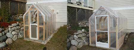 Walk-Through Greenhouse