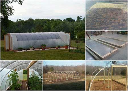 Windproof Hoop Greenhouse