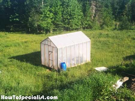 Wood-Framed Greenhouse