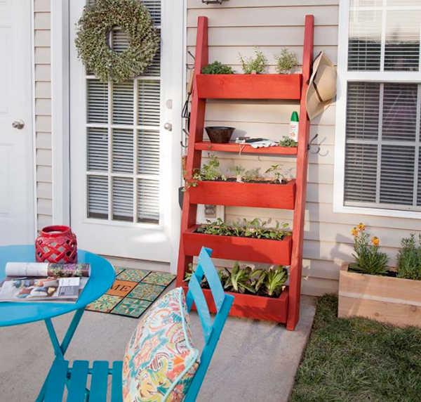 ladder style planter