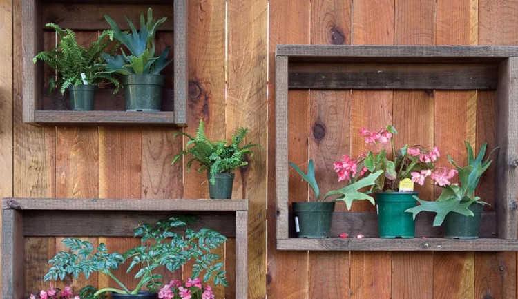 leftover lumber box shelves