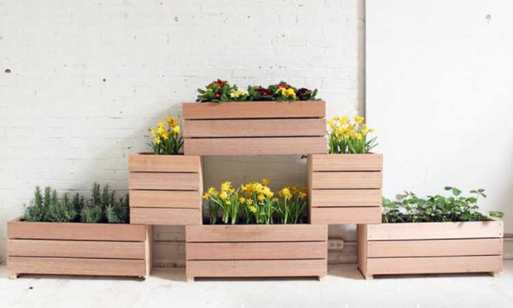 stackable planter boxes