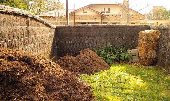 Composting area