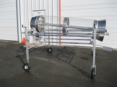 Worm Castings Harvester