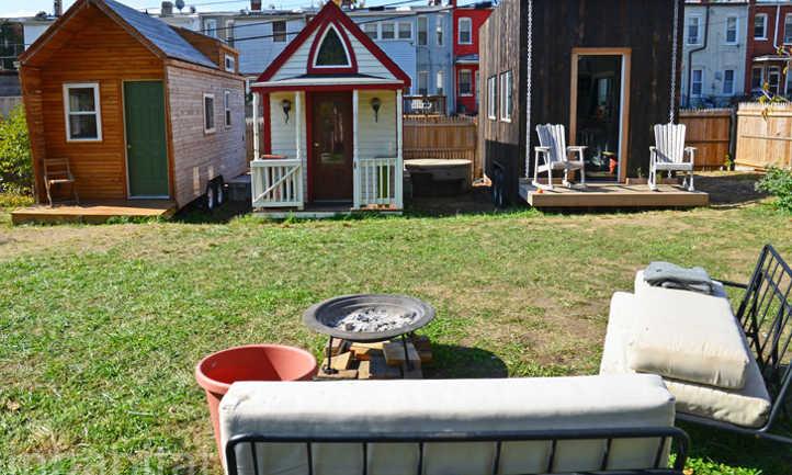 Small home garden