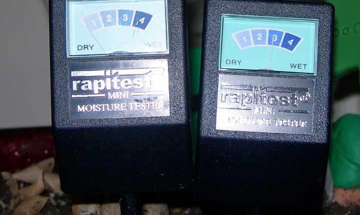 Two Rapitest sensors