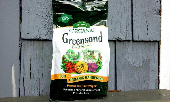 Bag of Espoma Organic Greensand