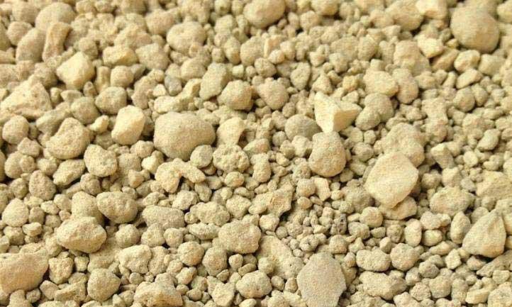 Soft rock phosphate fertilizer