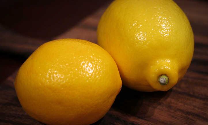 Comparison of meyer lemon and eureka lemon