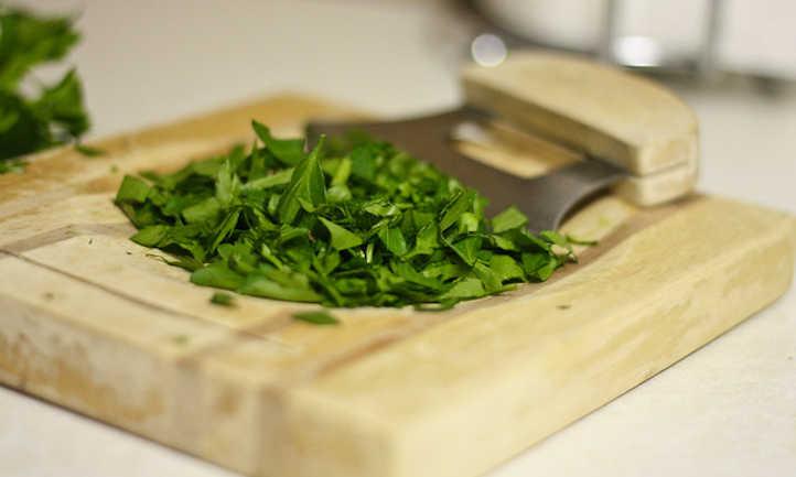 Chopped parsley
