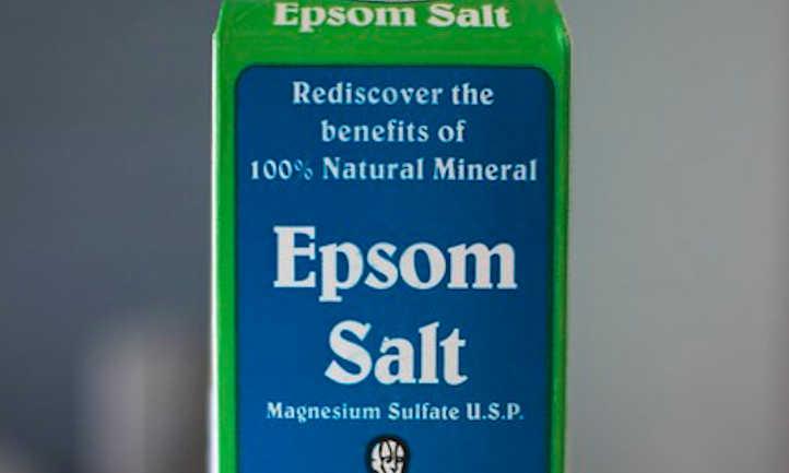Epsom salt box