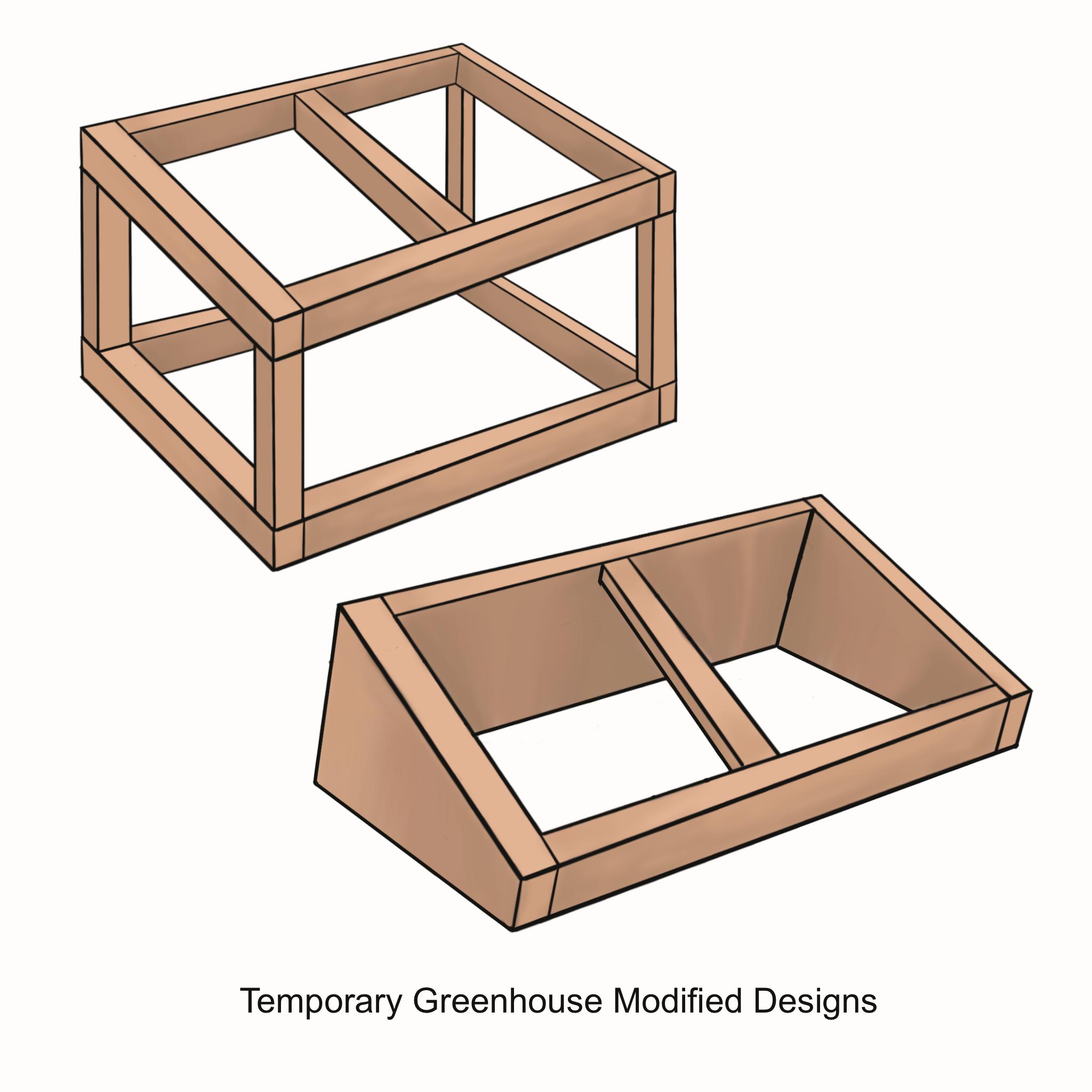 Modified designs
